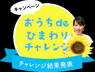 おうちdeひまわりチャレンジ結果発表!